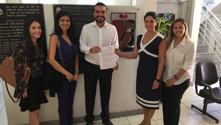 OAB Contagem firma termo de cooperação com o FNMC