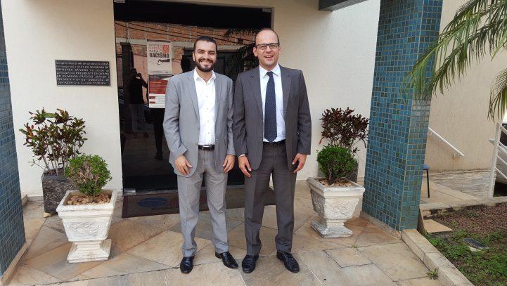 Novo defensor público da Comarca de Contagem visita a Subseção