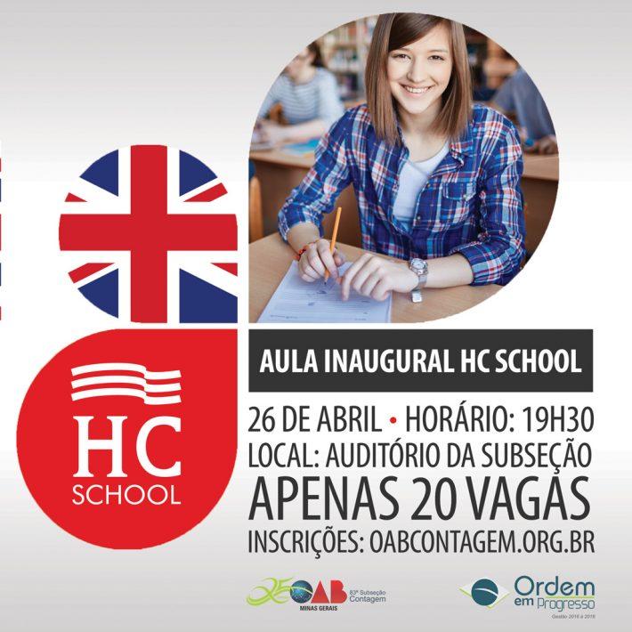 Aula Inaugural HC School