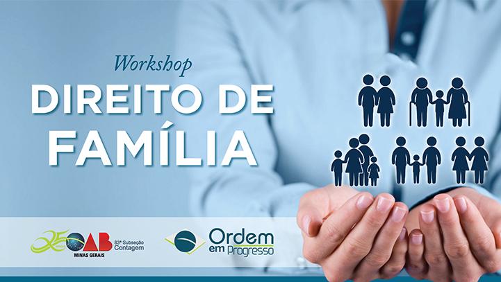 Workshop Direito de Família