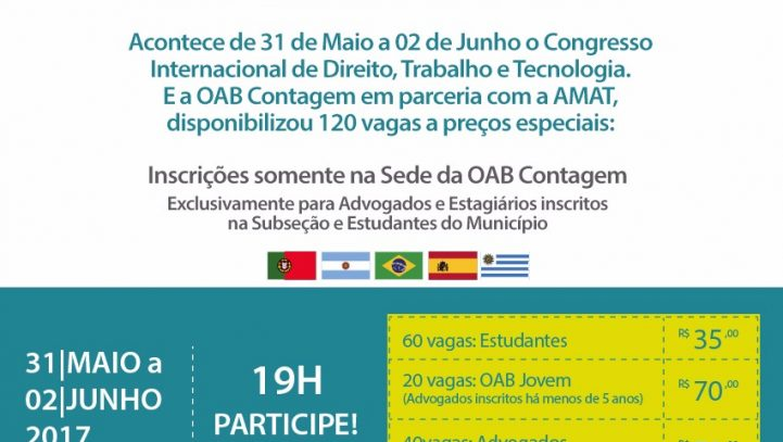 Congresso Internacional de Direito, Trabalho e Tecnologia
