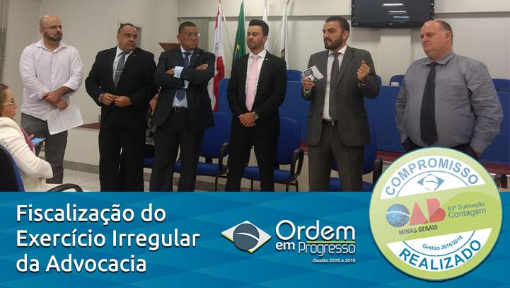 Presidente Sanders Alves Augusto cria a Comissão Especial de Fiscalização da Propaganda Irregular e Combate do Exercício Ilegal da Advocacia