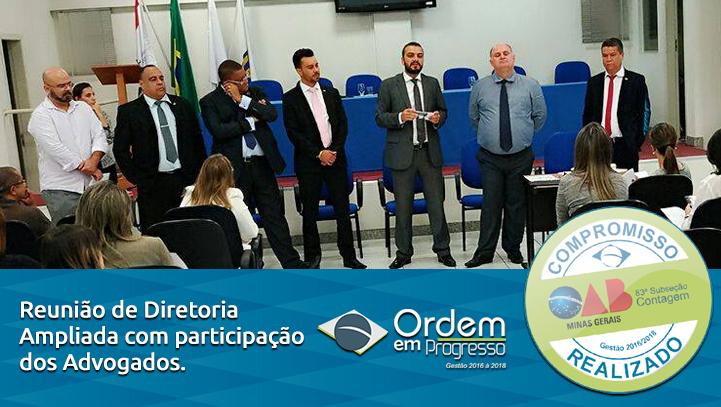 Reunião Aberta Diretoria, Conselho e Comissões