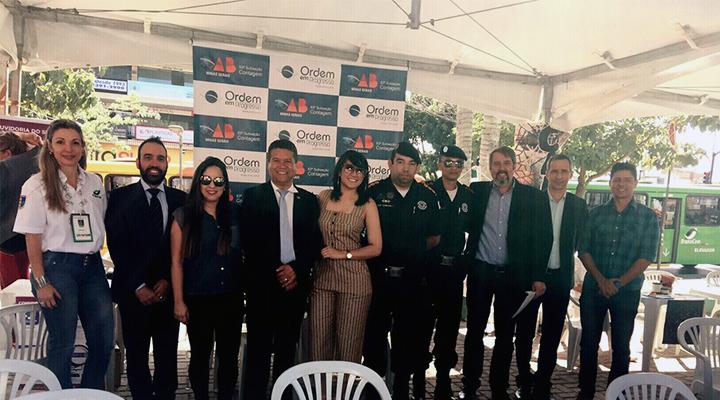 OAB Contagem participa de abertura da Semana de Trânsito
