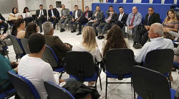 OAB Contagem realiza reunião aberta de diretoria, conselho e comissões