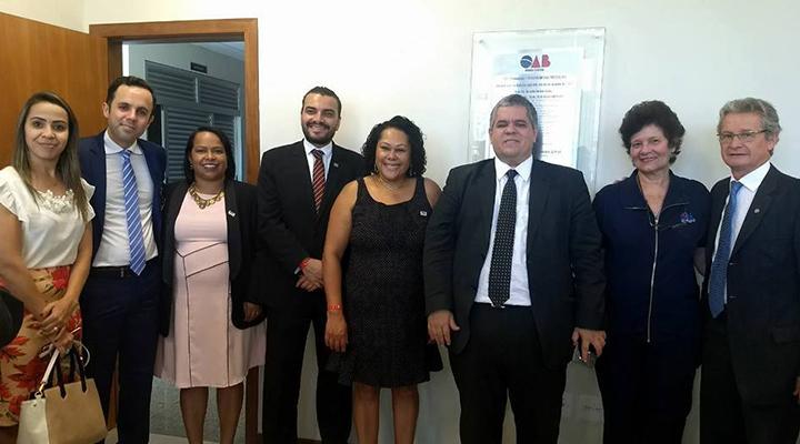 OAB Contagem participa de inauguração de nova sala do Fórum de Ribeirão das Neves