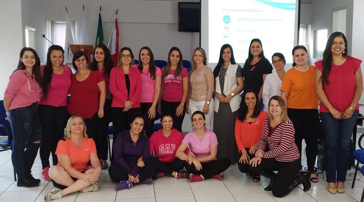 OAB Contagem realiza evento de encerramento da campanha  Outubro Rosa
