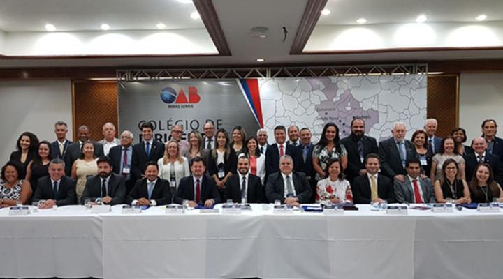 OAB Contagem sedia Colégio de Dirigentes oferecido pela Seccional da OAB/MG