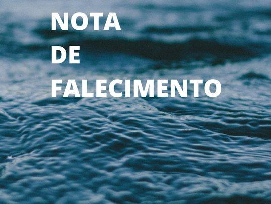 Nota de Falecimento – José Maria de Jesus Pereira