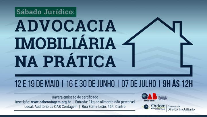 OAB Contagem oferece palestras gratuitas sobre Direito Imobiliário