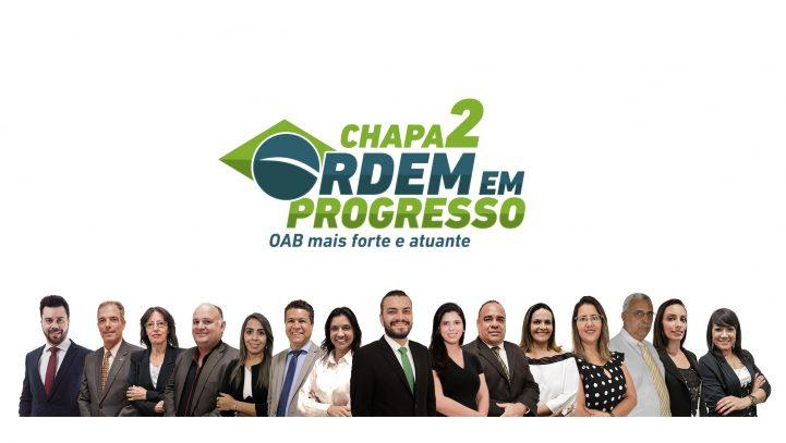 Chapa Ordem em Progresso é reeleita para o triênio 2019/2021