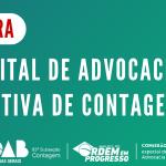 Edital de Advocacia Dativa de Contagem – 2019/2020
