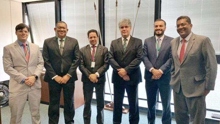 Diretoria da OAB se reúne com Secretário Adjunto de Estado de Administração Prisional