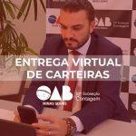 Primeira Entrega Virtual de Carteiras