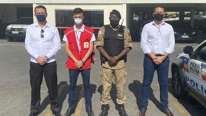 Ação Social da OAB Contagem em parceria com a Polícia Militar e a Instituição Cruz Vermelha na Vila Santa Rita
