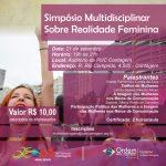 Simpósio Multidisciplinar Sobre Realidade Feminina