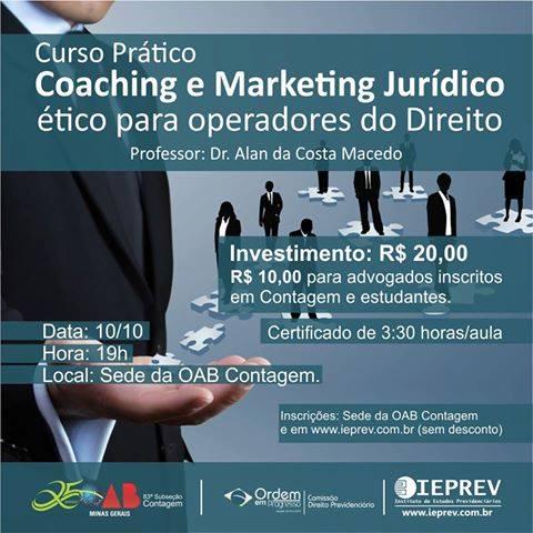 Curso Prático – Coaching e Marketing Júridico Ético para Operadores do Direito