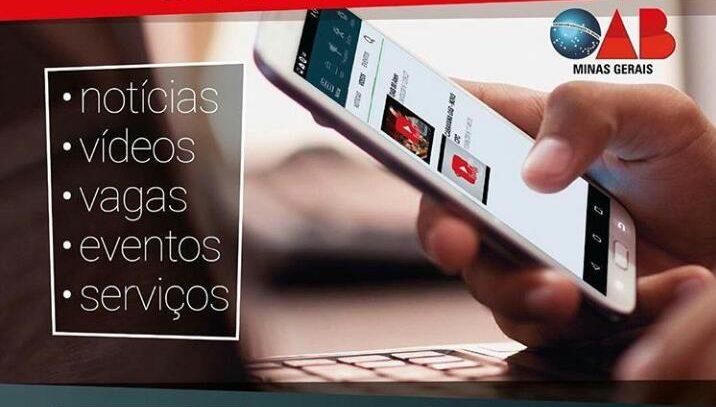 OAB/MG lança aplicativo para advogados e estagiários