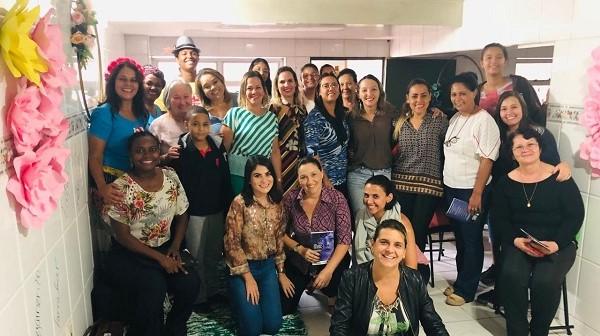 OAB Contagem participa do evento promovido pelo CREAS Eldorado comemorando o mês das Mulheres