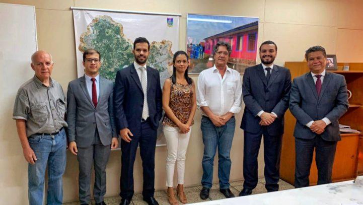 OAB Contagem reúne-se com Secretário de Desenvolvimento Econômico do Município