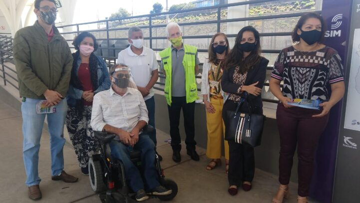 A Comissão de Defesa dos Direitos do Idoso realiza visita técnica no Terminal Petrolândia